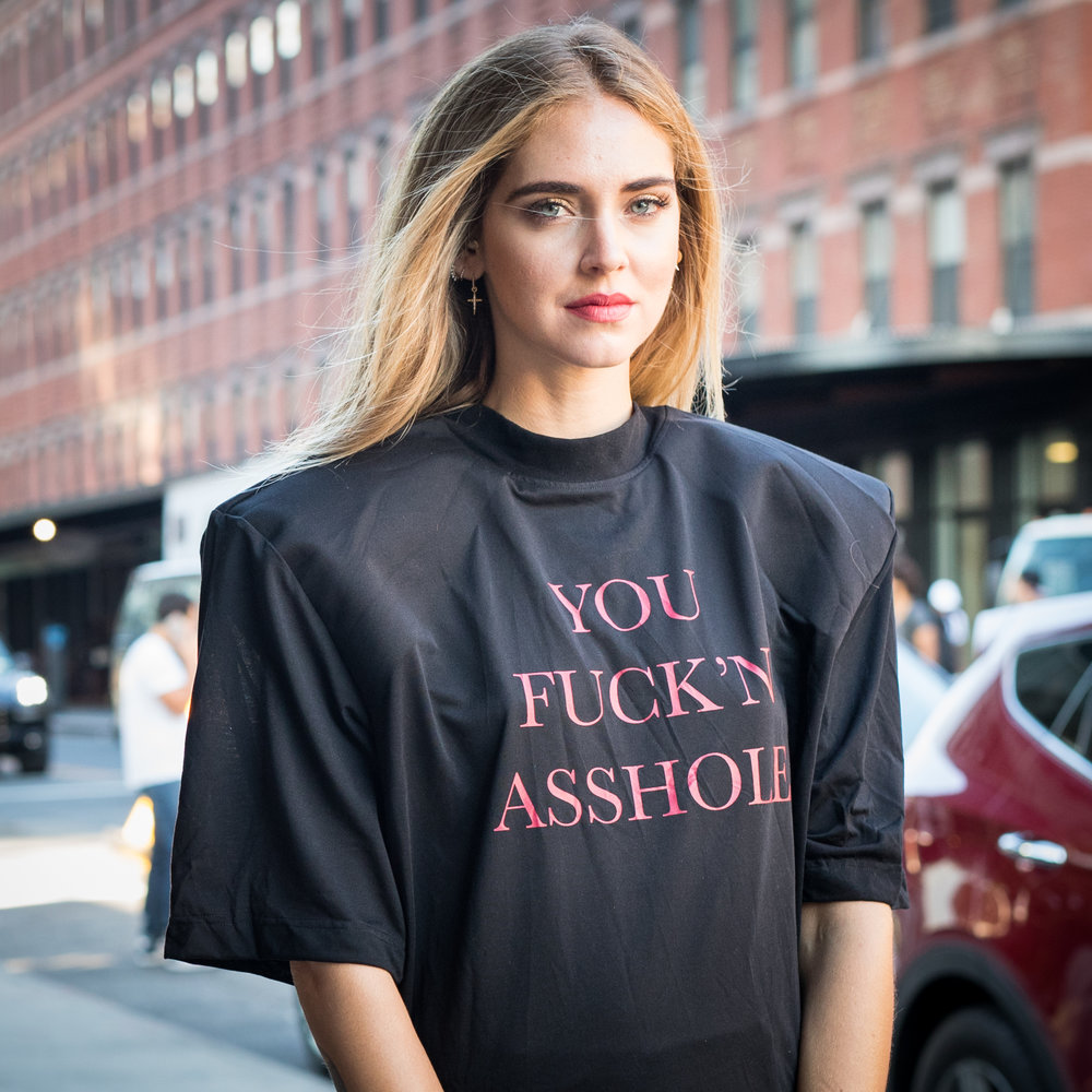 chiarra ferragni fashion blogger new york fashion week on blog mademoiselle jules mlle