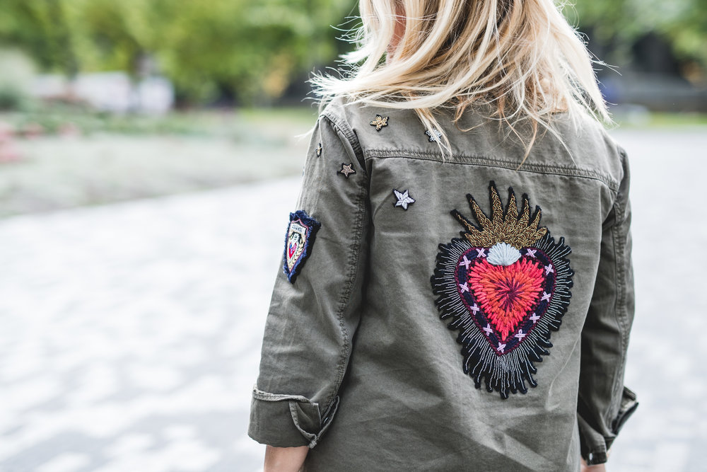 top trends fashion styling tips for fall winter by blogger mlle jules mademoiselle embroidered jacket