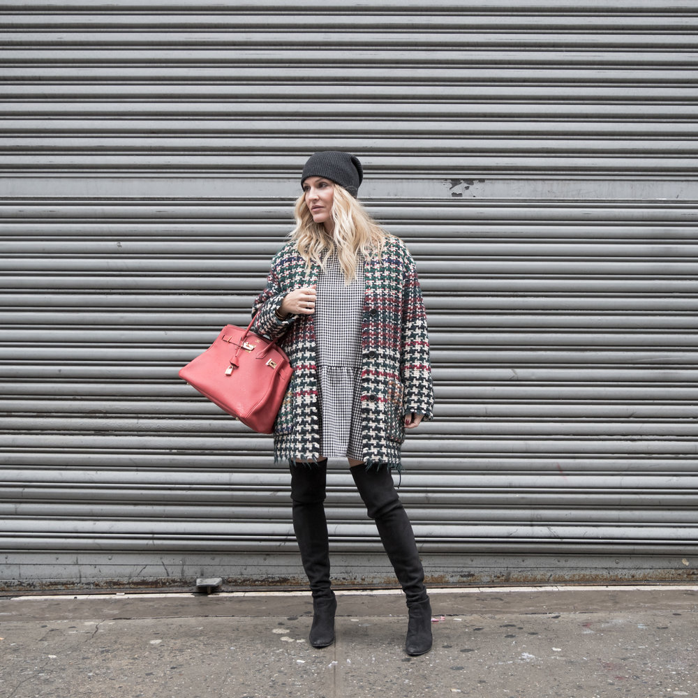 one jacket 3 ways isabel marant coat TNT fashion montreal fashion blogger mademoiselle jules mlle jules blog