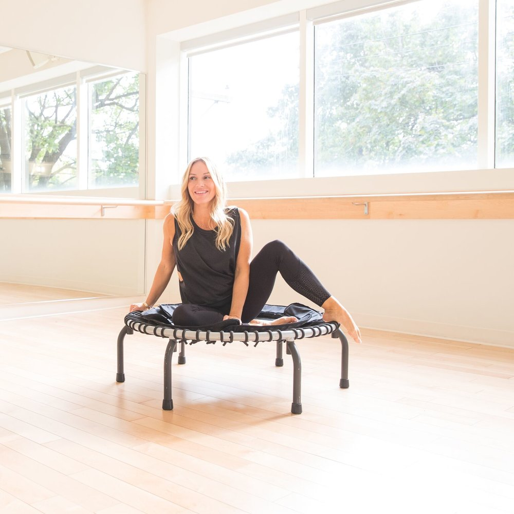 mademoiselle jules lifestyle blogger at victoria park gym montreal