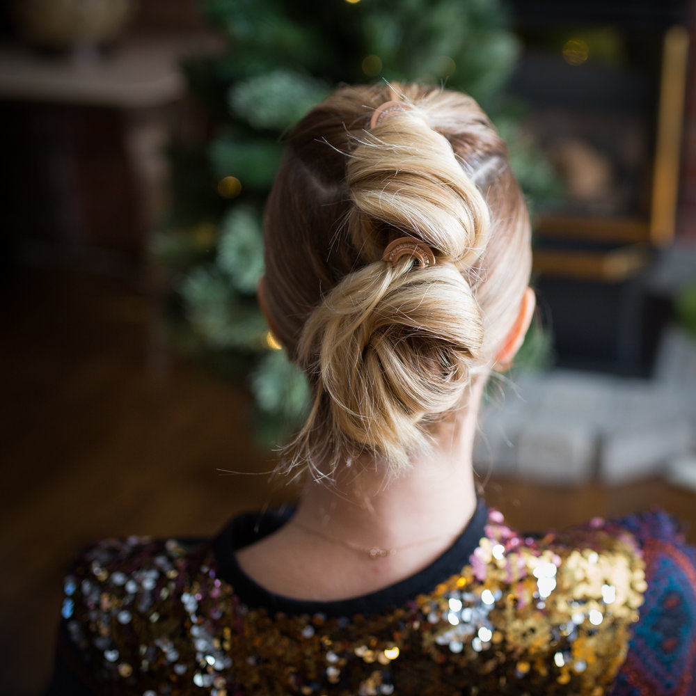 mademoiselle jules dyson supersonic blog festive hair style