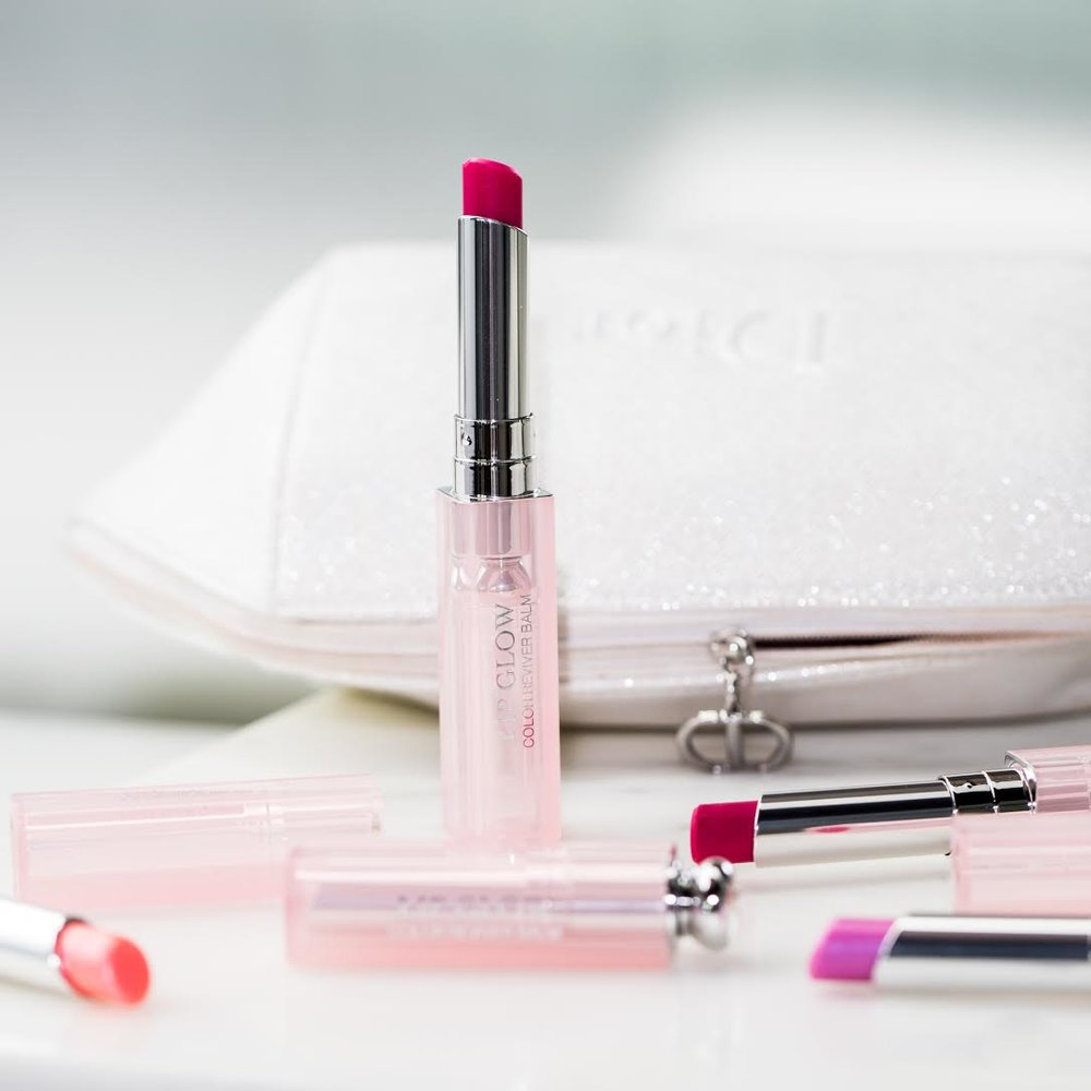 Dior lip glow color reviver by beauty blogger mademoiselle jules mlle
