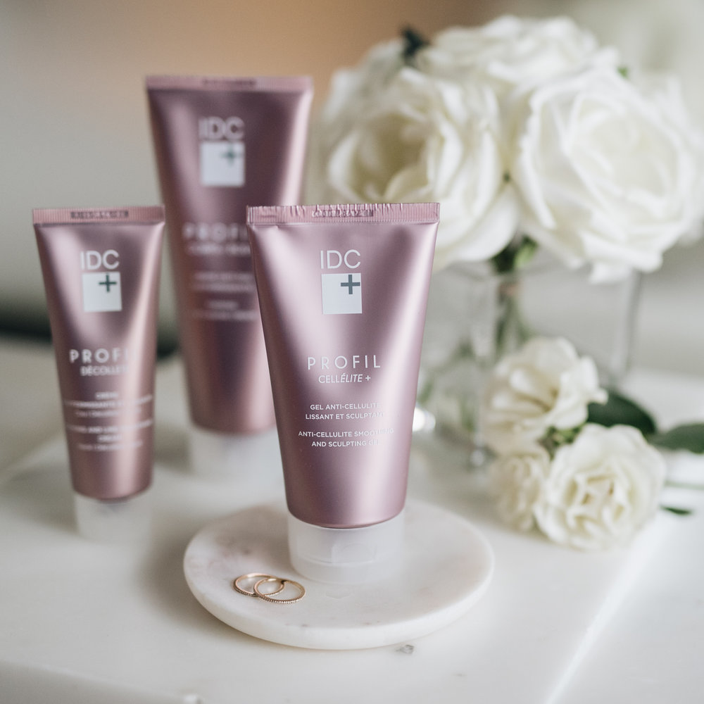 My new Body Routine from IDC Dermo Collection Profil blog Mlle jules mademoiselle cellulite