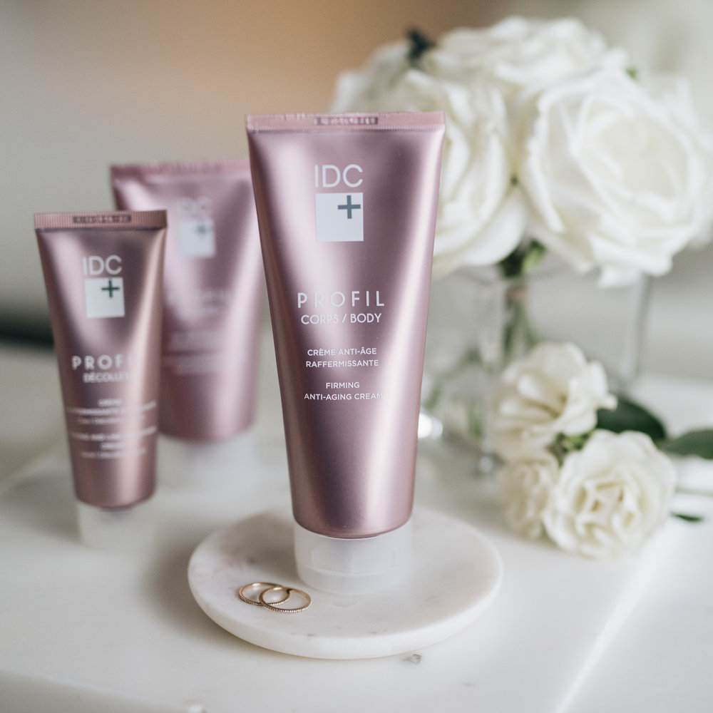 My new Body Routine from IDC Dermo Collection Profil blog Mlle jules mademoiselle