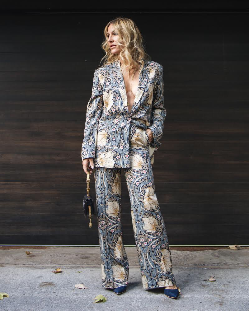 morris & co pantsuit