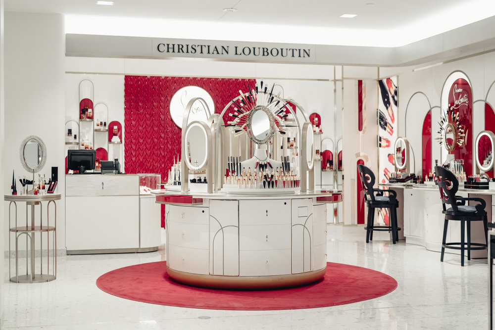 christian louboutin beauty at holt renfrew ogilvy by montreal blogger mademoiselle jules