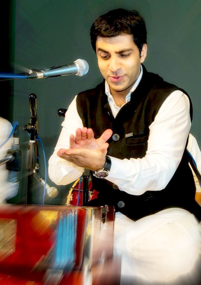 Sonny of Riyaaz Qawwali - provides musical, lyrical and strategic direction to the group