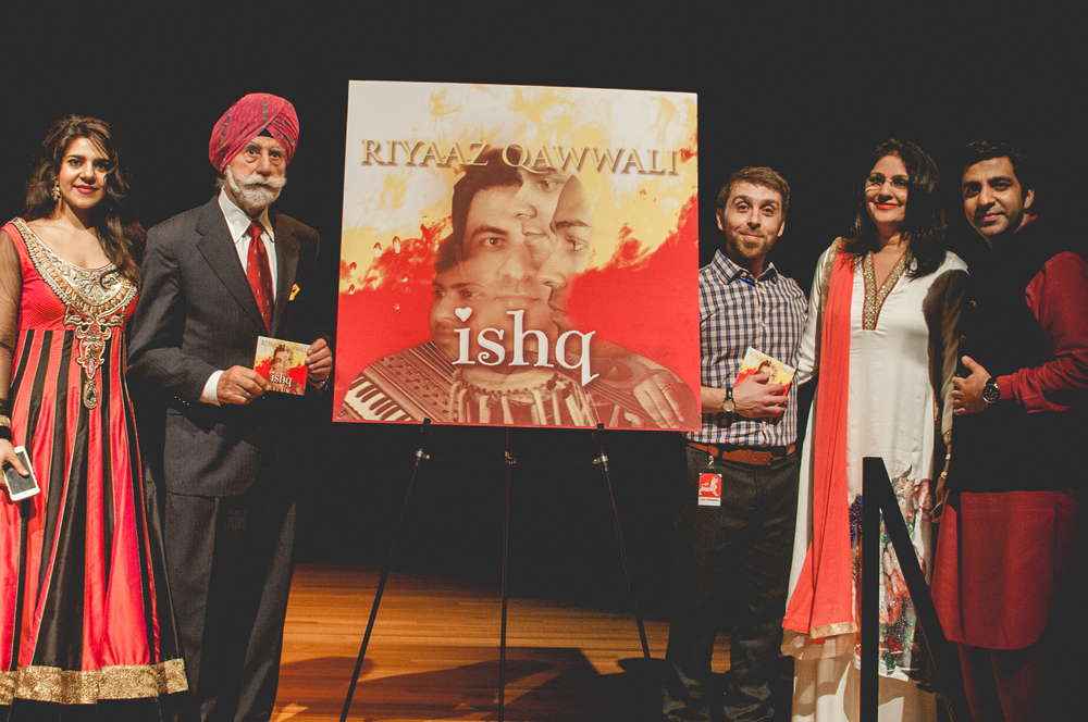 At the unveiling of the CD (Asia Society), this was right after the Guests of Honor revealed the cover to the audience.