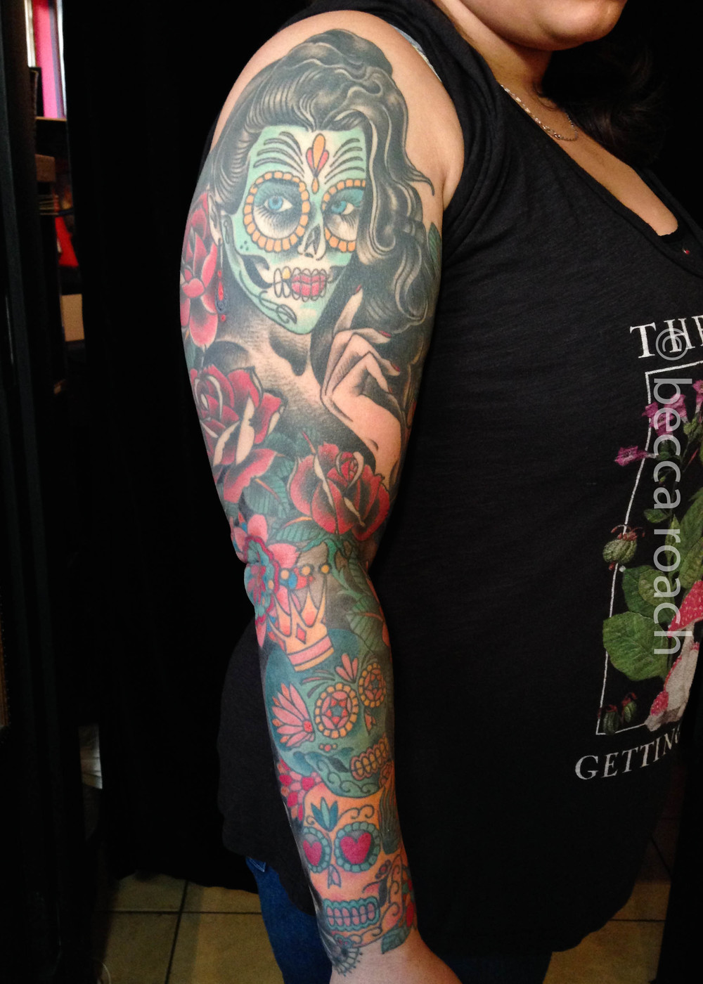 Becca Roach Day of the Dead Sleeve.jpg