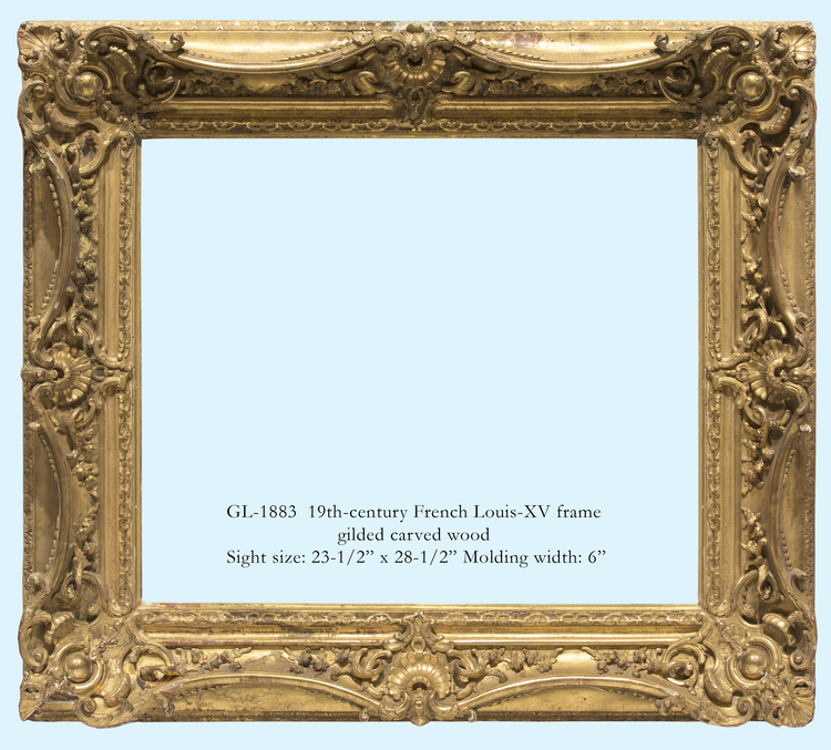 French frames — Gill & Lagodich Gallery