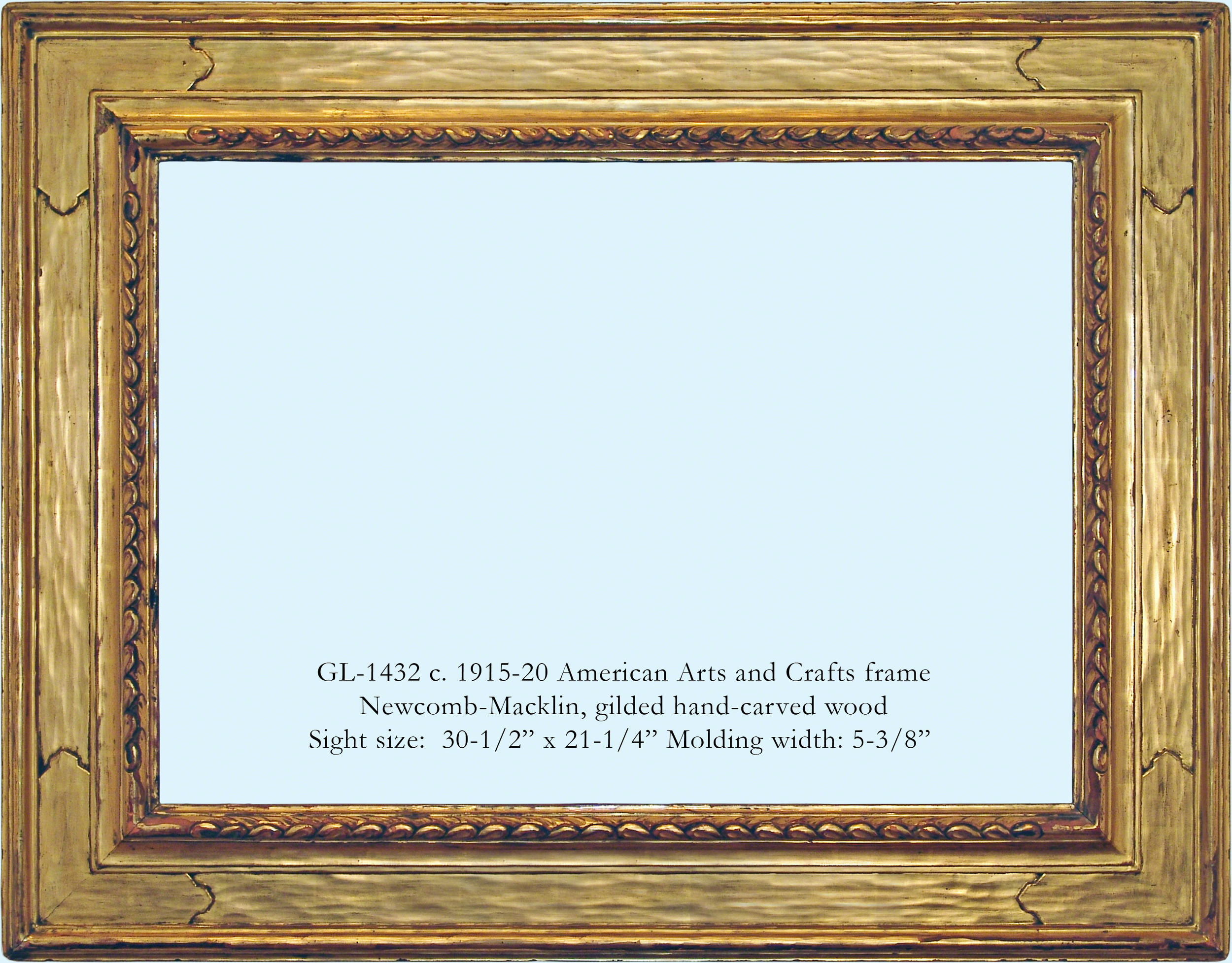 Period american frames gill lagodich gallery gl 1432 american arts and crafts frame wmg jeuxipadfo Choice Image