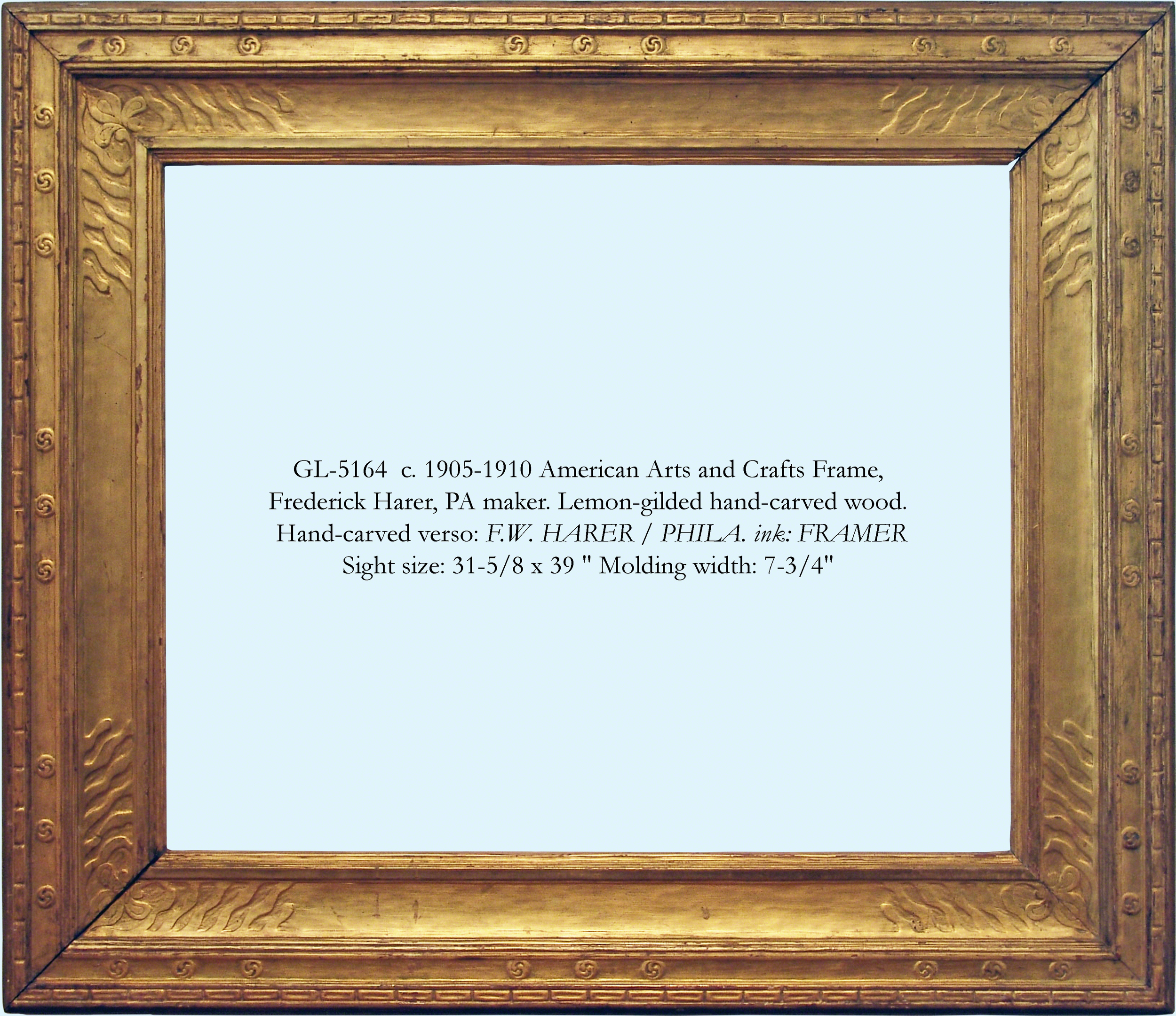 Period american frames gill lagodich gallery gl 5164 american harer frame web wmg jeuxipadfo Image collections