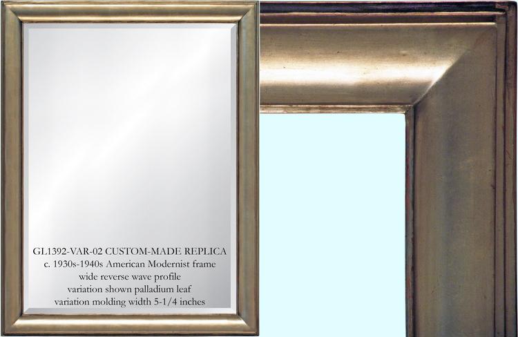gl1392 var02 american modernist mirror frame - Mirror Frames