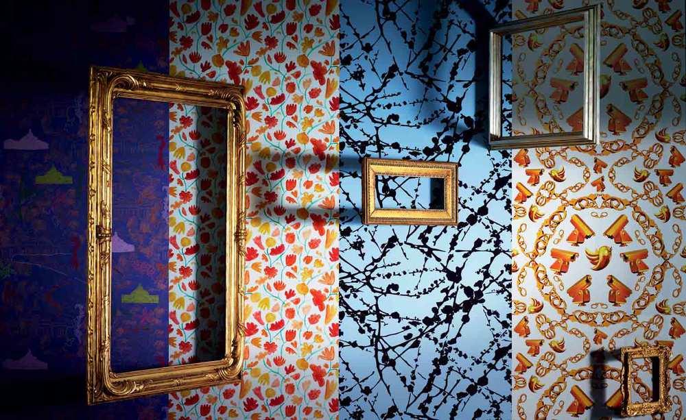 maharam serpentine wallpaper