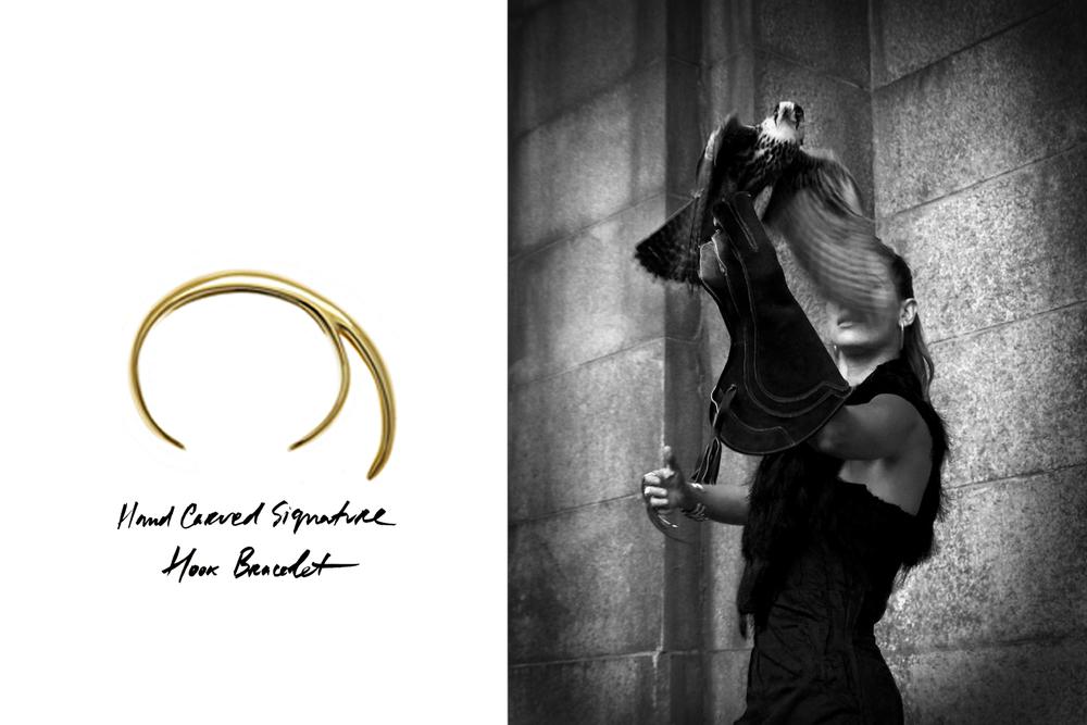 Jovana Djuric Harpers Bazaar Horus Hook Bracelet.jpg