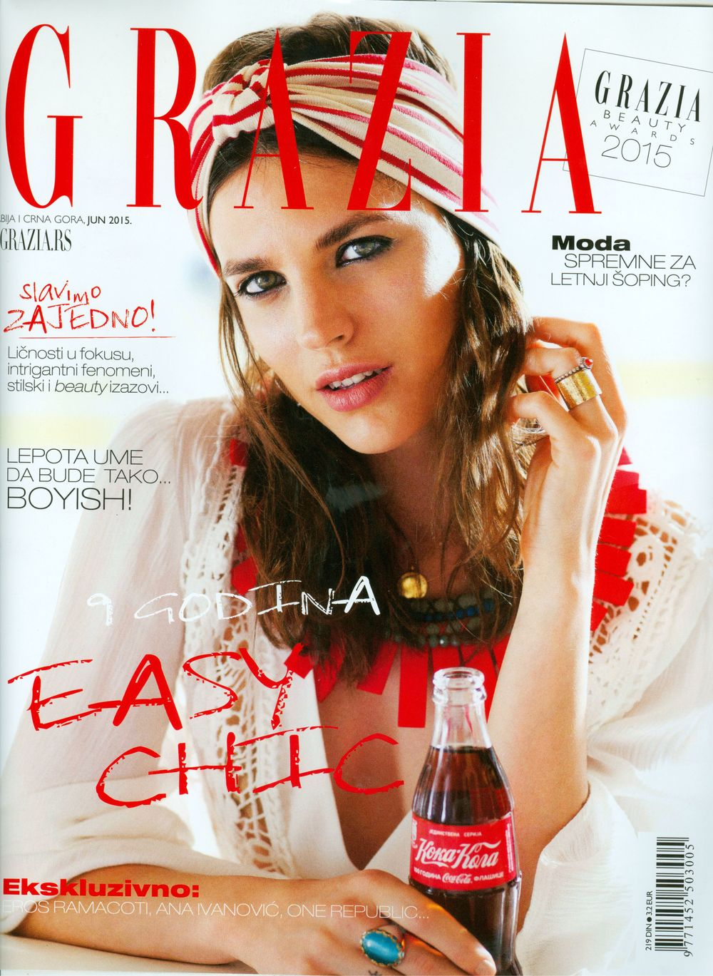 Jovana Djuric GRAZIA June 2015 Cover.jpg