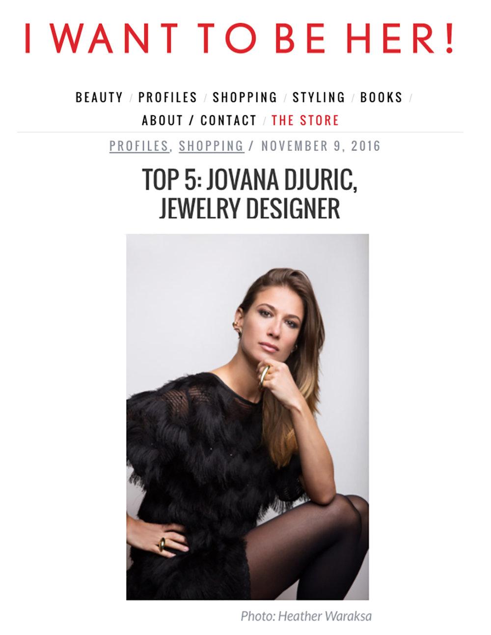 Jovana Djuric I want to be her Blog November 2016.jpg