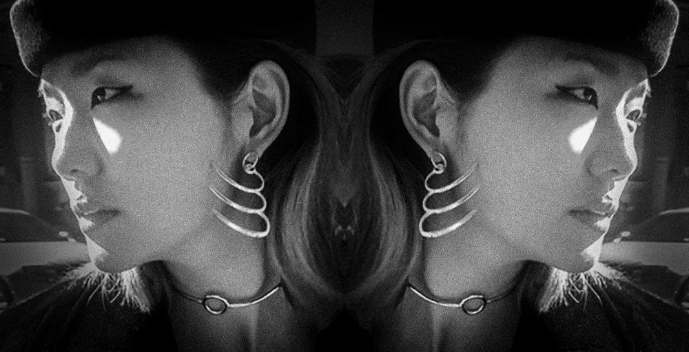 Jovana Djuric Triple Achiever Earring and Full Circle Choker.jpg