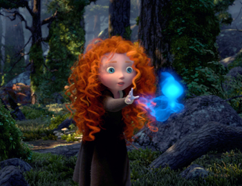 Merida wisps