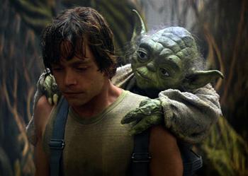 Yoda - Luke - Dagobah