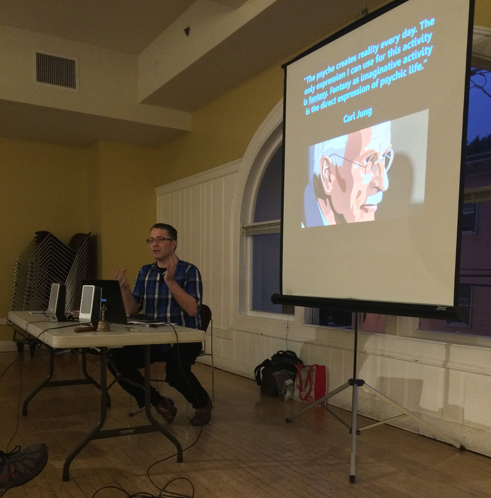 "Speaking on ""Neptune's Immensities"" at the  San Francisco Astrological Society , August 2016"