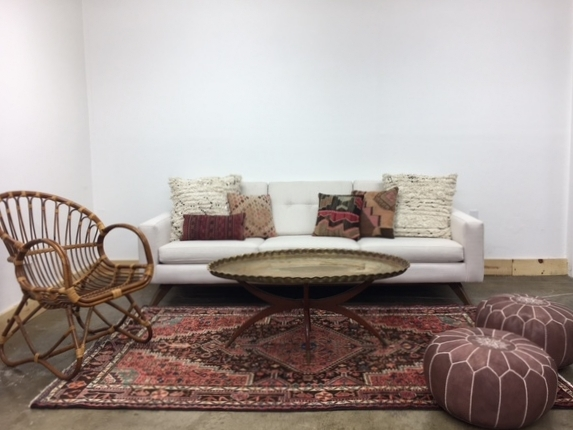 Merick Lounge 2: $730 A little bit of modern mixed with a whole lot of moroccan elements to create a warm and welcoming atmosphere for guests to relax.