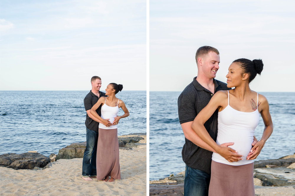 Josh+Ashlee l Beach Sunset Maternity l Avon NJ l Olivia Christina Photography 1.jpg