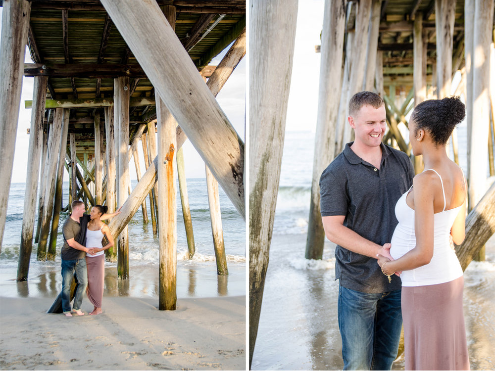 Josh+Ashlee l Beach Sunset Maternity l Avon NJ l Olivia Christina Photography 5.jpg