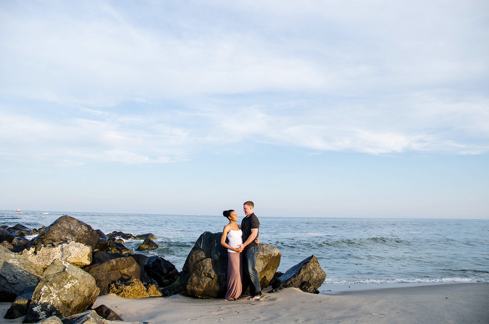 Josh+Ashlee l Beach Sunset Maternity l Avon NJ l Olivia Christina Photography 8.jpg