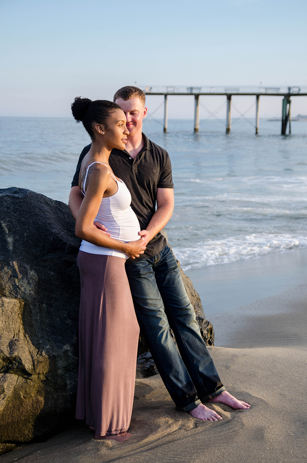 Josh+Ashlee l Beach Sunset Maternity l Avon NJ l Olivia Christina Photography 9.jpg