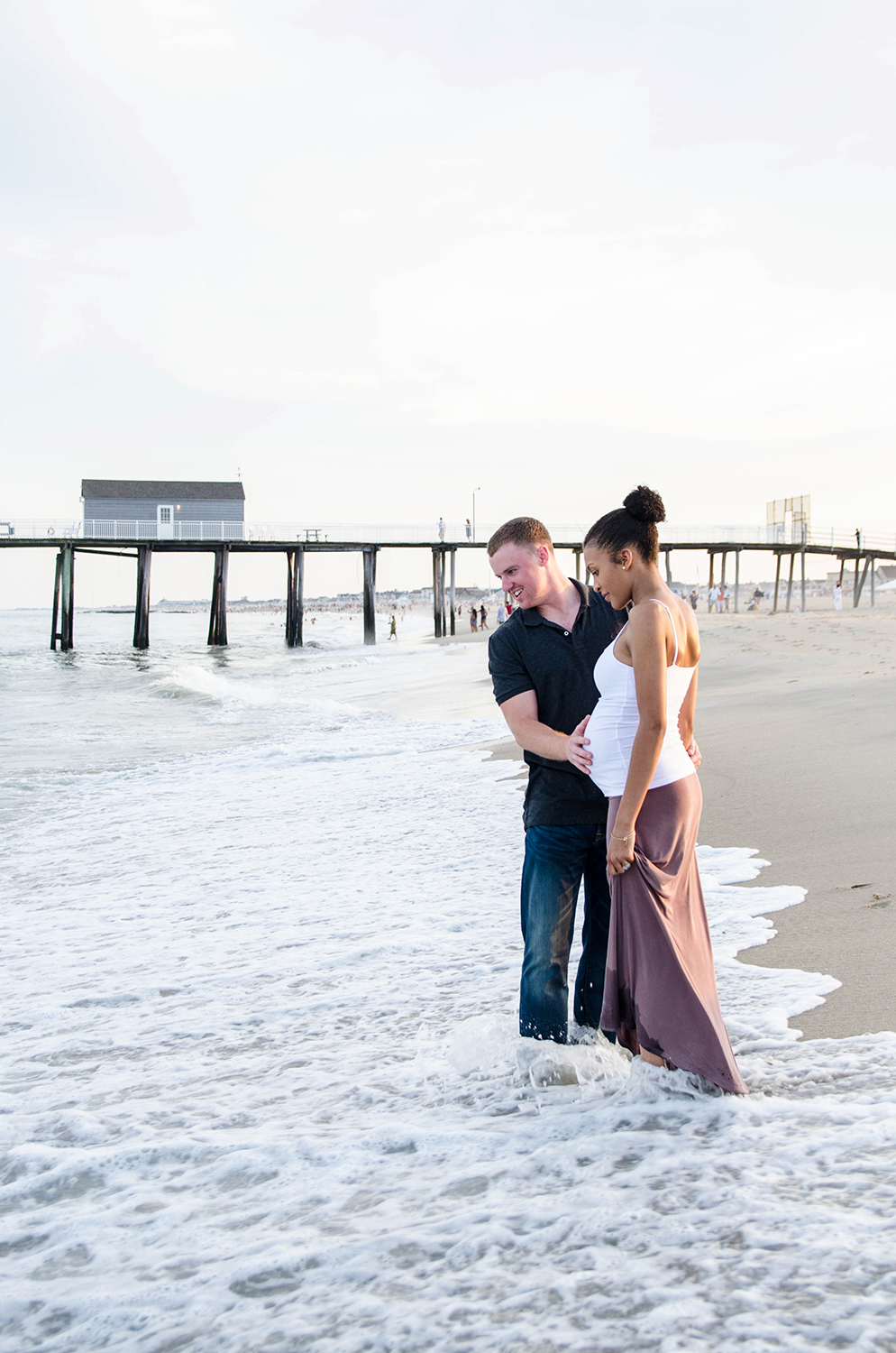 Josh+Ashlee l Beach Sunset Maternity l Avon NJ l Olivia Christina Photography 14 copy.jpg