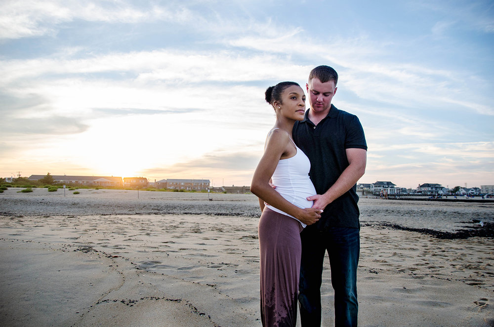 Josh+Ashlee l Beach Sunset Maternity l Avon NJ l Olivia Christina Photography 16.jpg