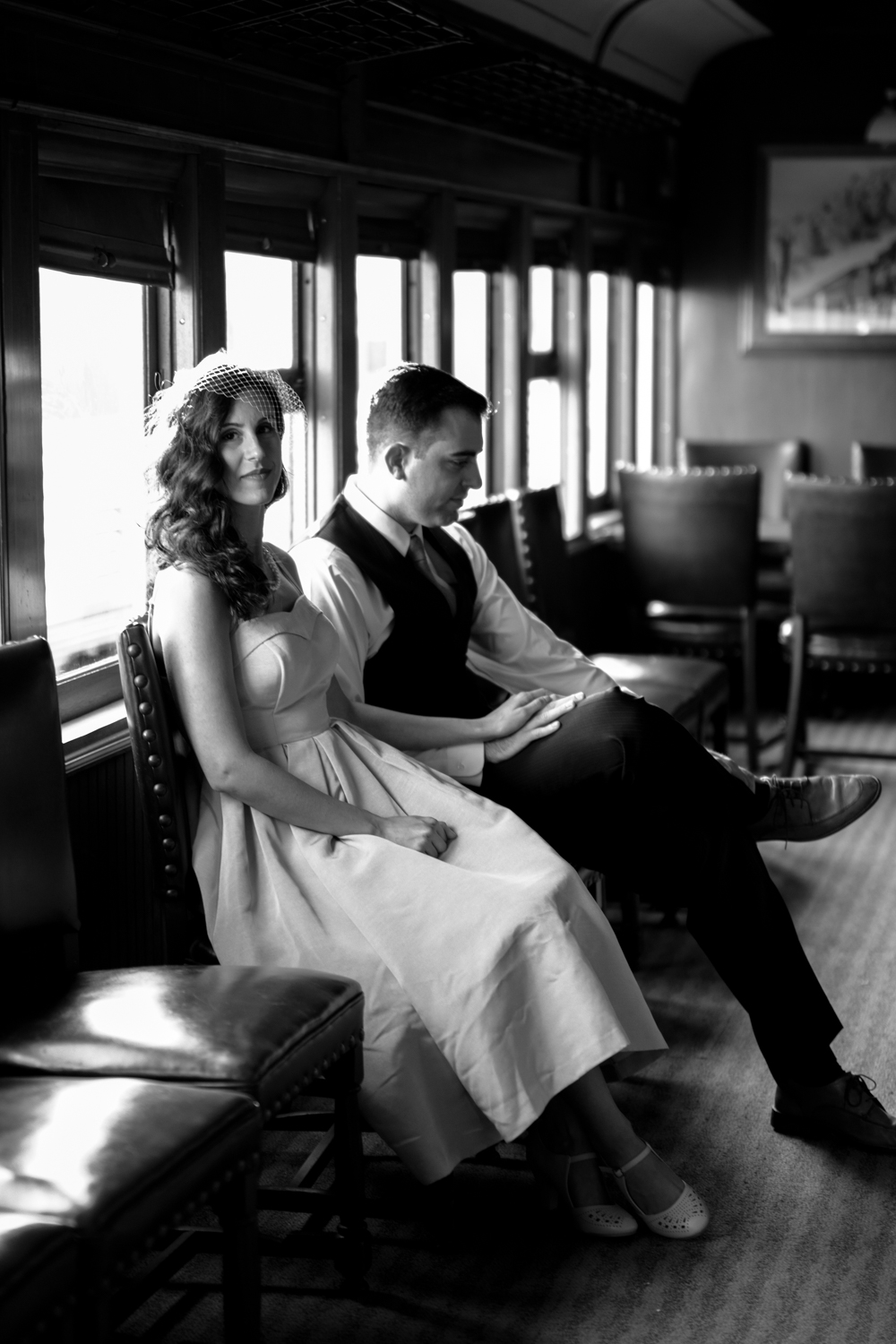 Michelle and Joe- Whippany Railway Musem 1950s Engagement - New Jersey -Olivia Christina Photography-39.jpg