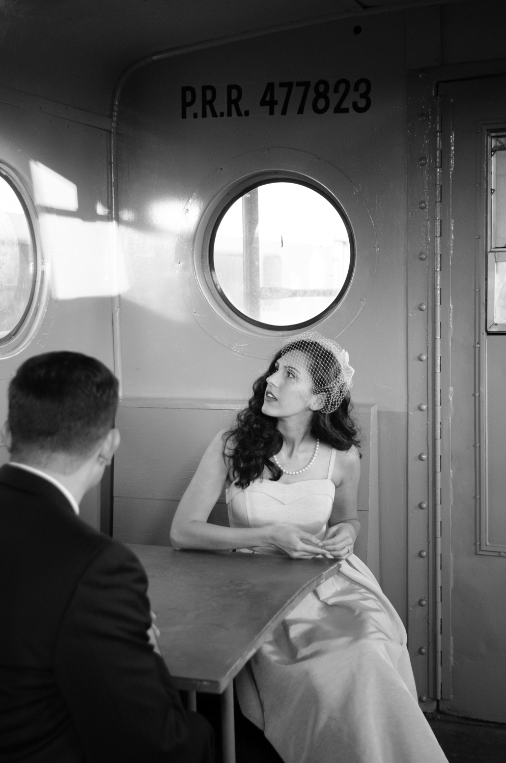 Michelle and Joe- Whippany Railway Musem 1950s Engagement - New Jersey -Olivia Christina Photography-76.jpg