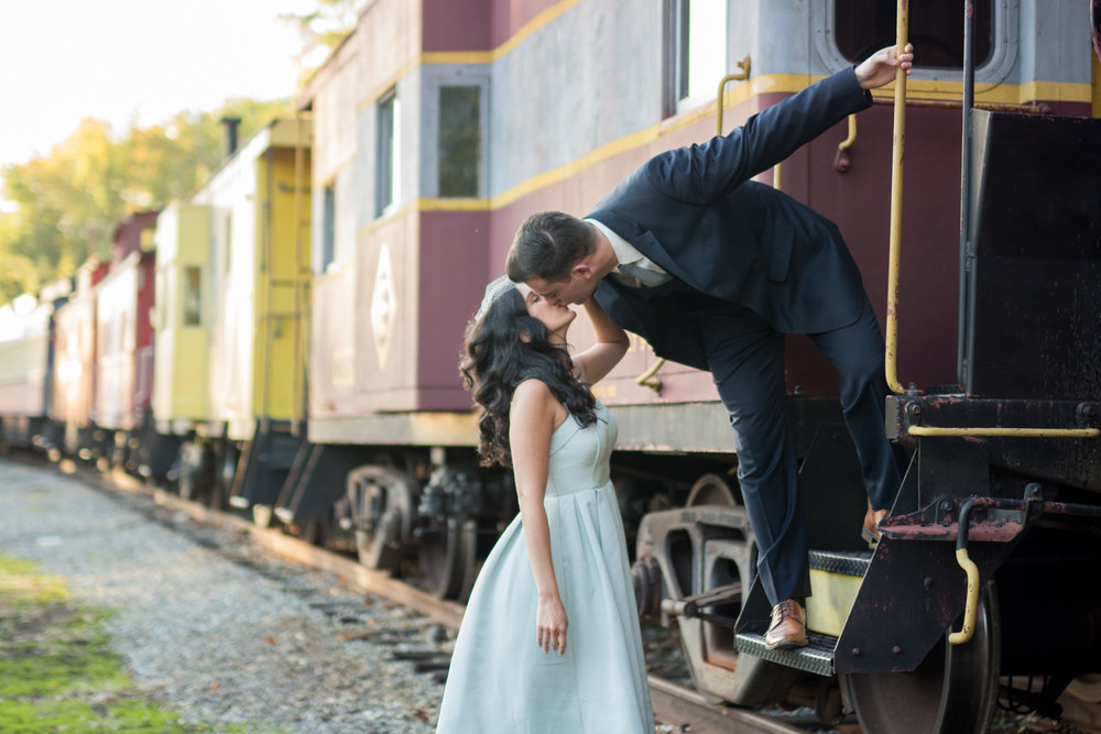 Michelle and Joe- Whippany Railway Musem 1950s Engagement - New Jersey -Olivia Christina Photography-84.jpg