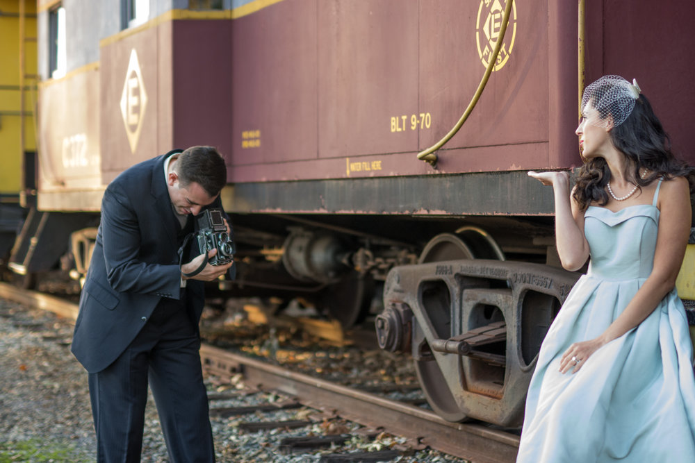 Michelle and Joe- Whippany Railway Musem 1950s Engagement - New Jersey -Olivia Christina Photography-94.jpg