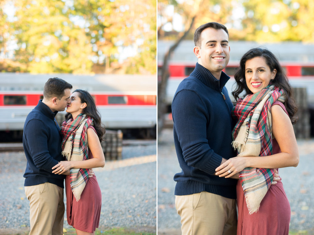 M+J Engagement Photos 8- Whippany Railway Museum- New Jersey -Olivia Christina Photography.jpg