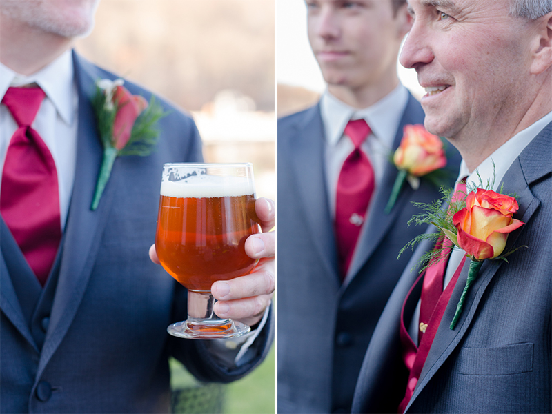 Sheryl+Gregg- Groomsmen Boutonnierres Beer- Lake Valhalla Club- New Jersey- Olivia Christina Photo.jpg