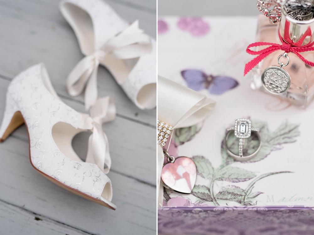 Michelle+Joe- Bride Wedding Shoes and Rings - Ryland Inn Winter Wedding - New Jersey - Olivia Christina Photo.jpg