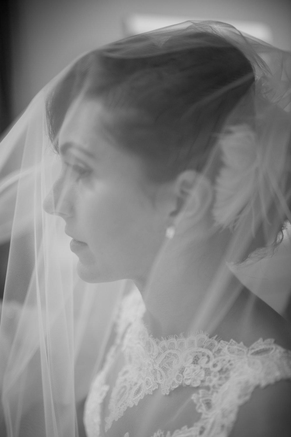Bridal Wedding Portraits- Black and White Photography- New Jersey Weddings- Olivia Christina Photography