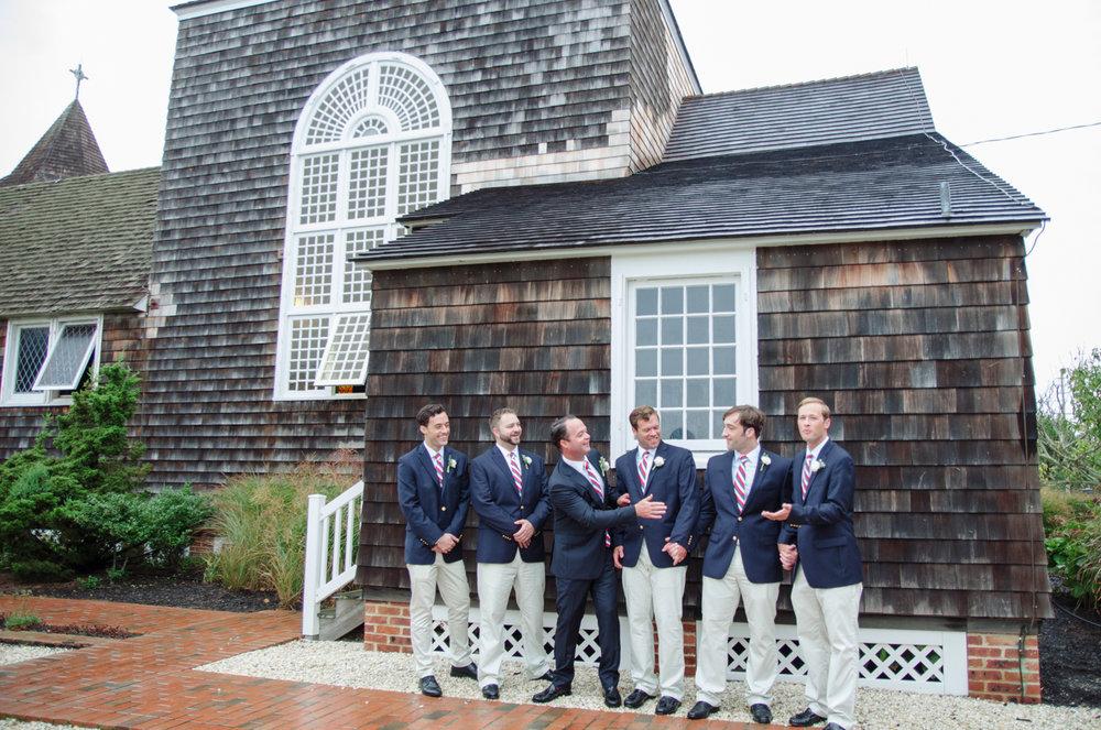 Groomsmen Casual portraits- Nautical Themed Wedding- Mantoloking New Jersey- Olivia Christina Photography