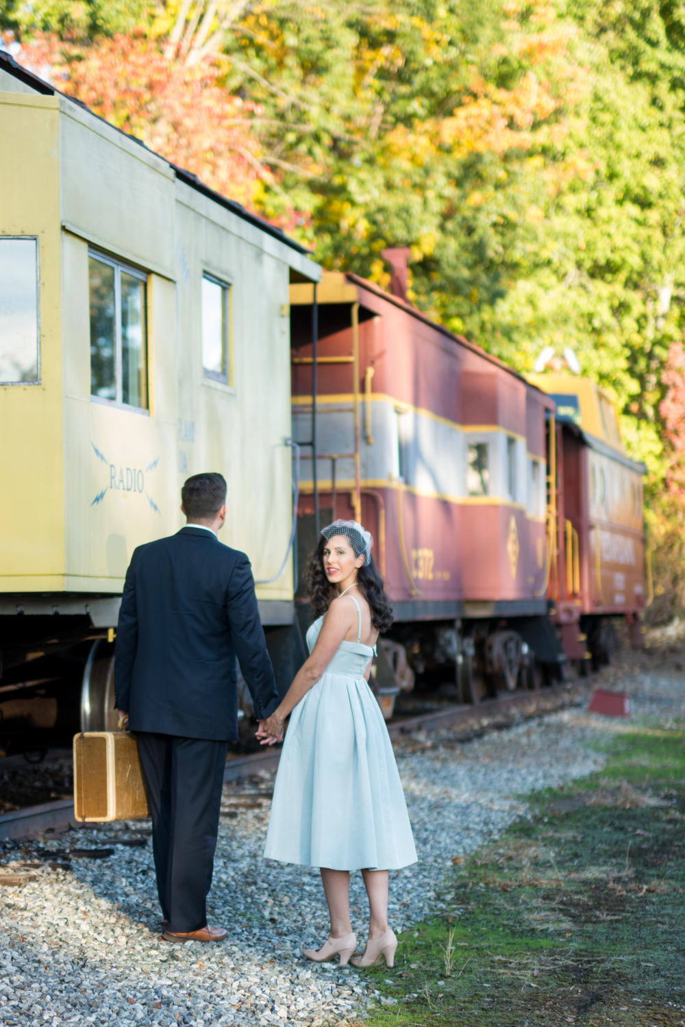 Michelle and Joe- Whippany Railway Musem 1950s Engagement - New Jersey -Olivia Christina Photography-69.jpg