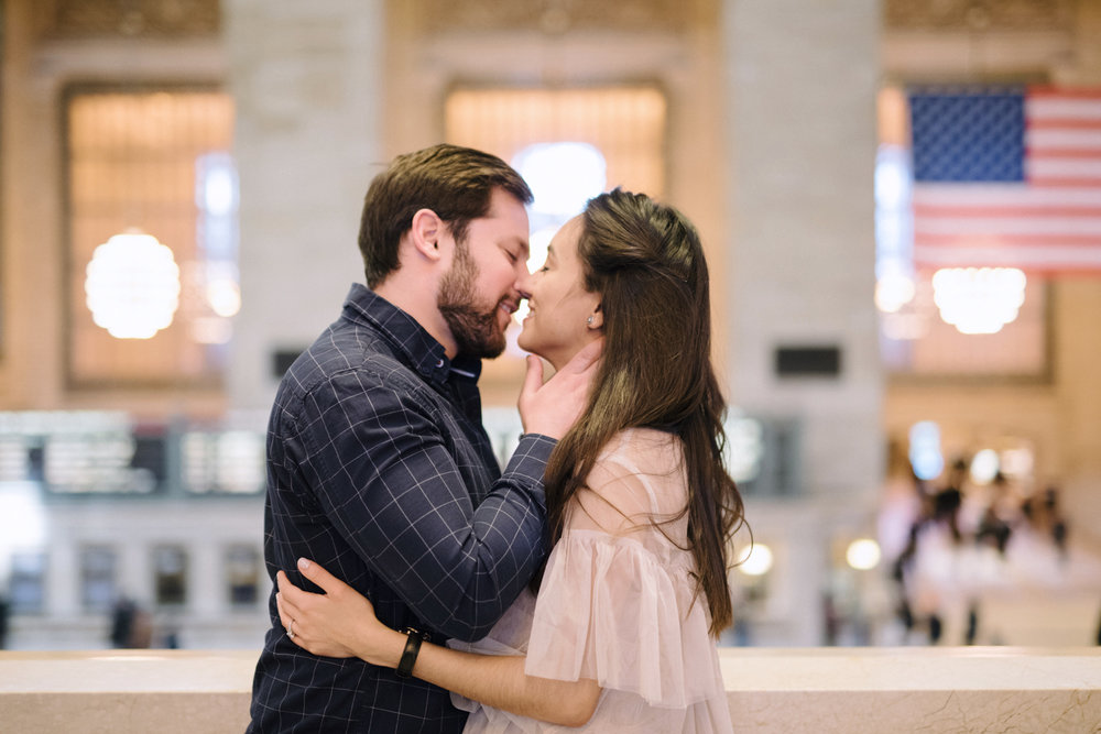 Anahi+David- Classic NYC Engagement Session- Grand Central New York City- Olivia Christina Photo-61.JPG