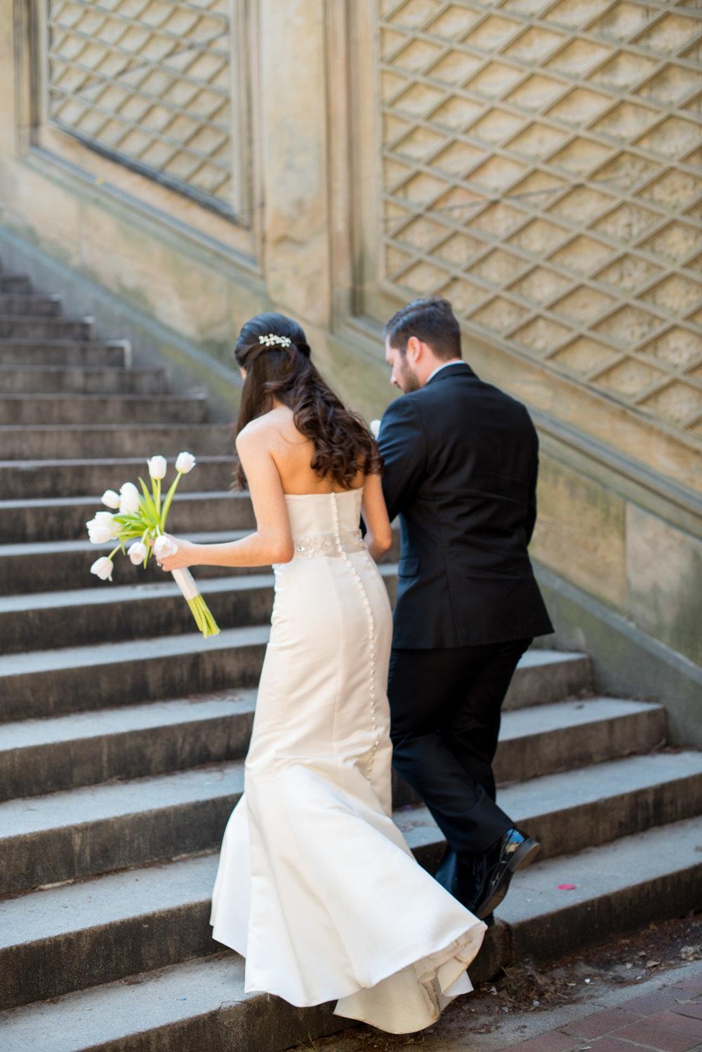 Central Park Elopement- New York City Weddings- DIY Weddings- New York- Olivia Christina Photography