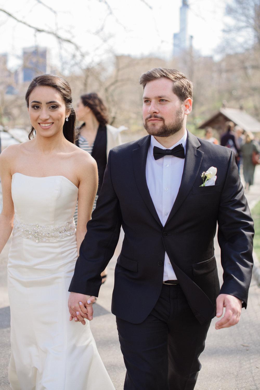 Central Park Elopement- New York City Weddings- Olivia Christina Photography