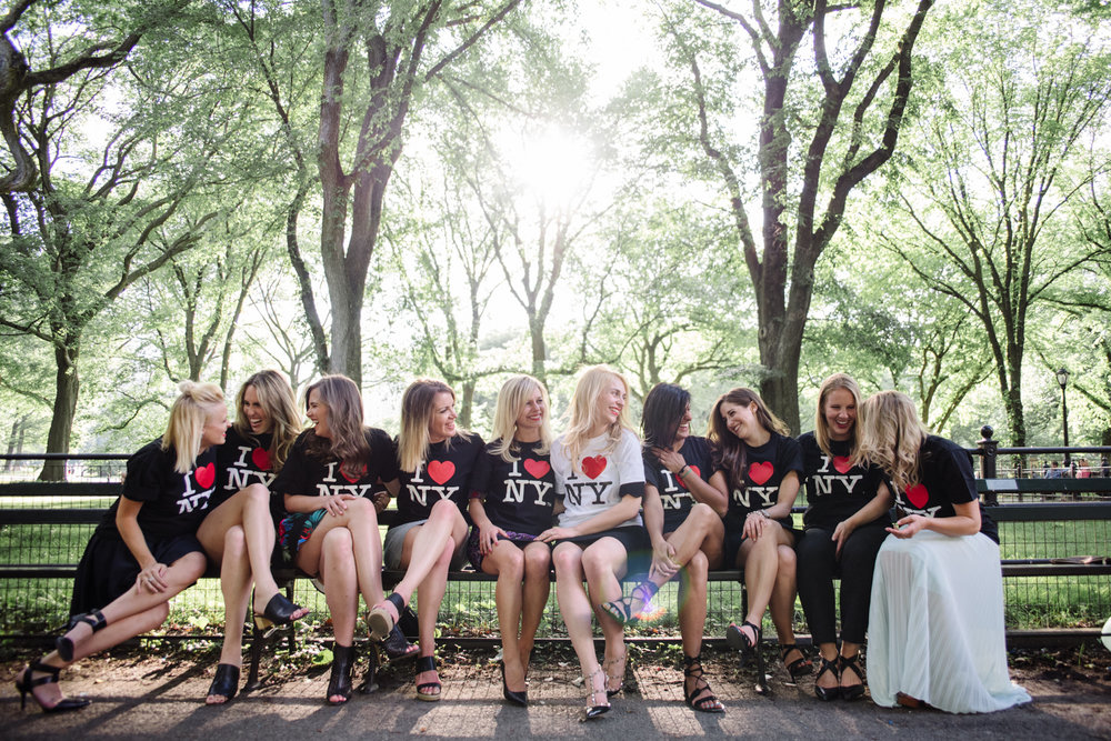 Canadian Bachelorette Party Takes on NYC- Central Park- Olivia Christina Photo.JPG