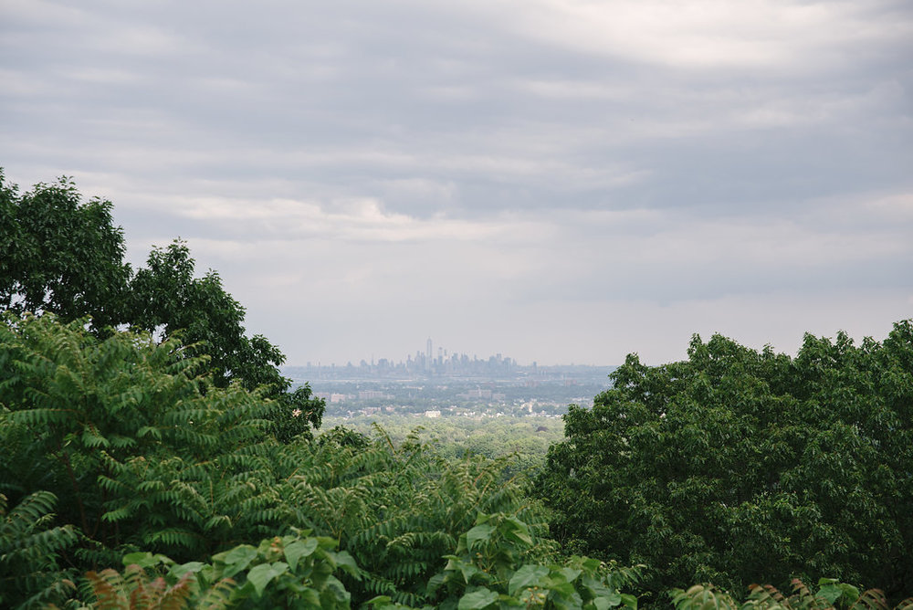 Eagle Rock Reservation- View of NYC