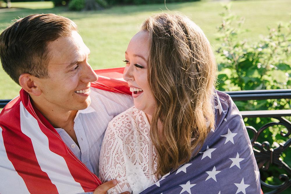 Evan+Meghan's Eagle Rock Reservation Engagement- Olivia Christina Photo
