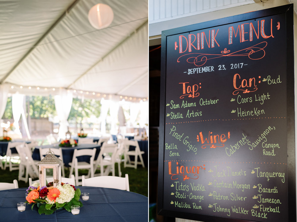 Lauren+AJ- Tent Wedding Rustic Decor- DIY Backyard Wedding- New Jersey- Olivia Christina Photo.jpg
