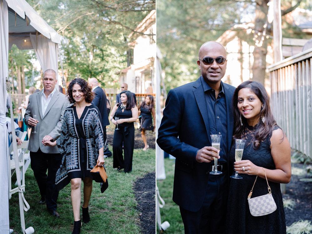 Lauren+AJ- Cocktail Hour Guests 2- DIY Backyard Wedding- New Jersey- Olivia Christina Photo.jpg